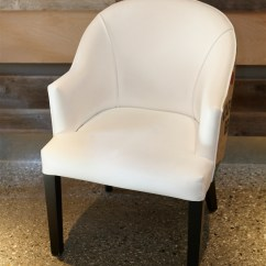Leather Dining Chairs Swing Chair With Stand Malaysia White Faux Burlap Urban Kitchen Shop