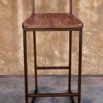 Wood Metal Counter Or Barstool Urban Kitchen Shop