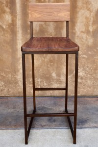 Wood + Metal Counter or Barstool - Urban Kitchen Shop