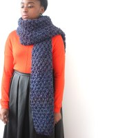 Chunky Knit Scarves - Erieairfair