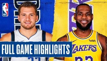 Nba Lakers At Mavericks Highlights Urban Magazine