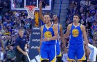 Stephen Curry Drops 33 points and 7 Three pointers