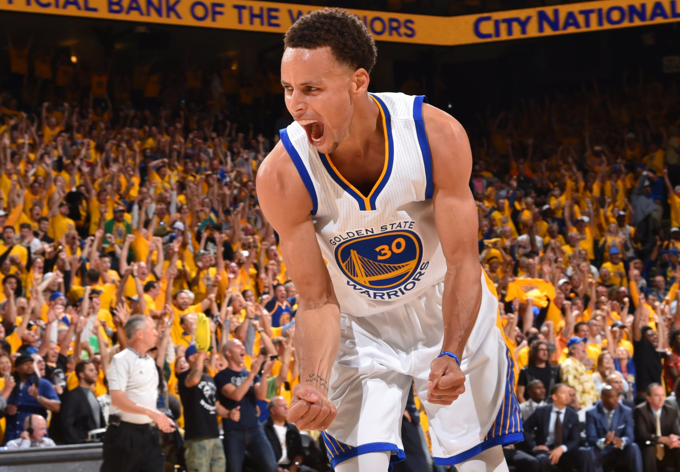 best loved 3e33c 24c51 Stephen Curry and Back-To-Back Champion Warriors Top NBA's ...