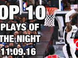 Top 10 Plays: November 9th, 2016