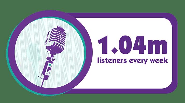 1m Listeners every week