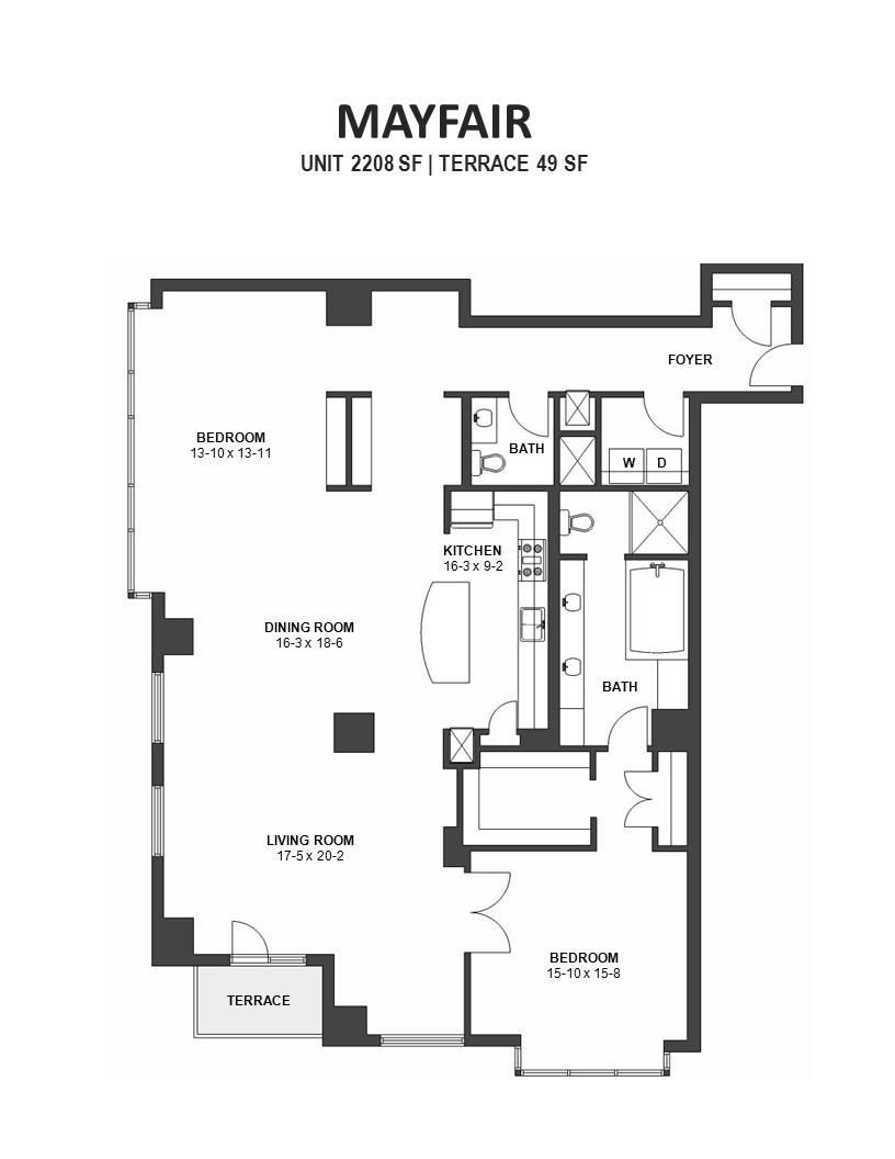 Mayfair IVY Floor Plans Minneapolis