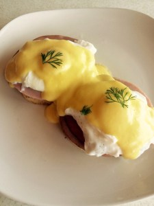 traditional Eggs Benedict