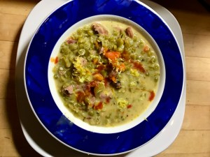 M's Heavenly Split Pea Soup