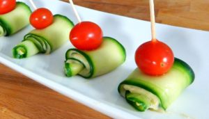 Finger food needn't be fancy to be pretty