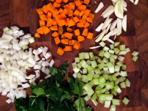 Italian Soffritto - Don't call it mirepoix!