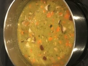 Our Split Pea soup
