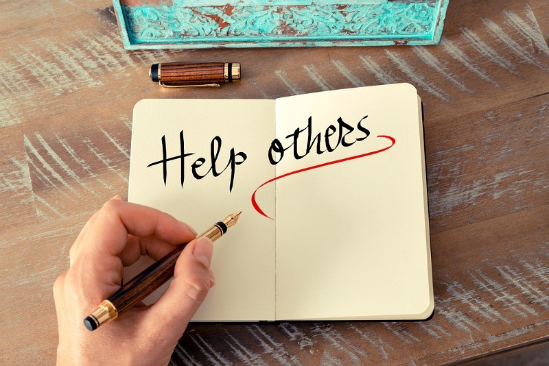 How Helping Others Can Also Help You