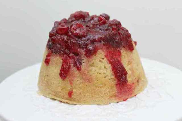 STYLECASTER   11 Impressive Holiday Desserts You Can Make In a Slow Cooker   Cranberry Vanilla Pudding