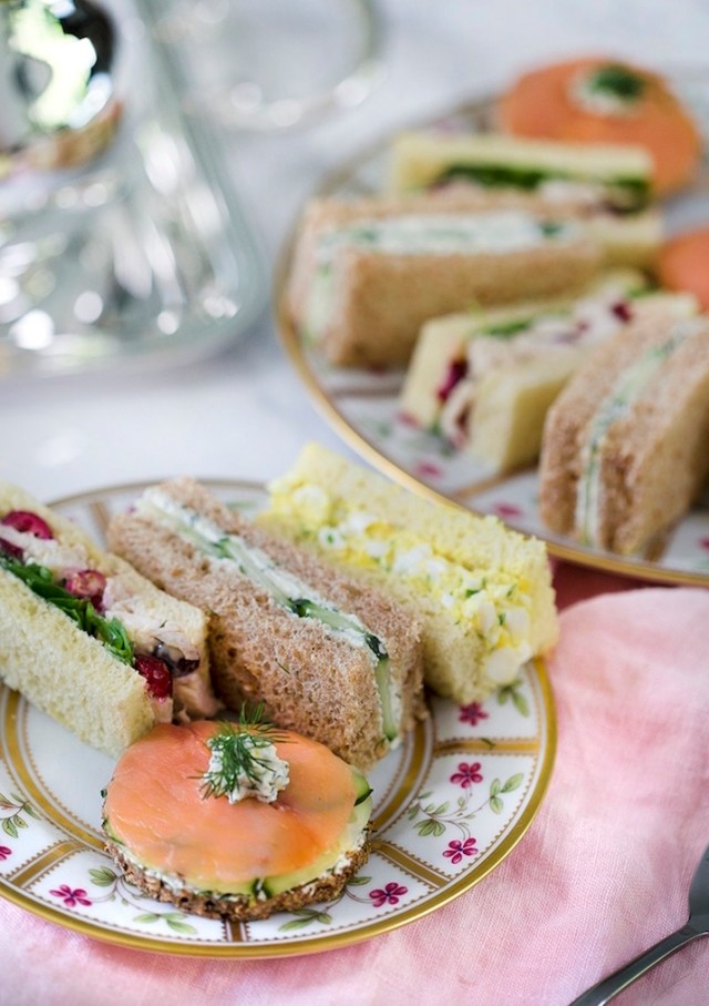 Tea Parties Are Making a Comeback—Here's How to Throw One: Tea Sandwiches