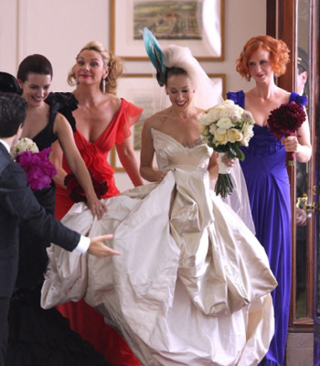 Carrie's Wedding Dress in the 'Sex and the City' Movie