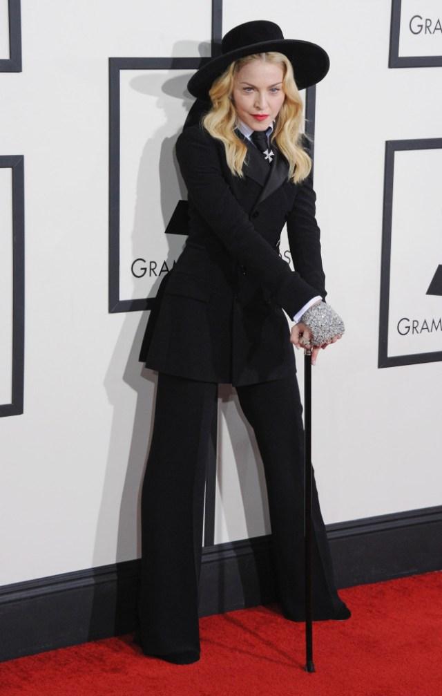 STYLECASTER | Best Celeb Women's Suits | Madonna
