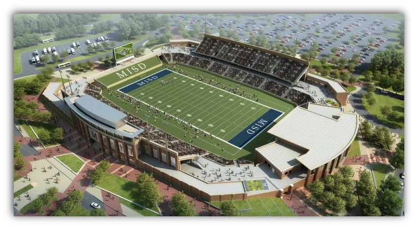 Rendering from McKinney Independent School District via New York Times