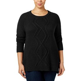 Knit Scoop Neck Pullover Sweater