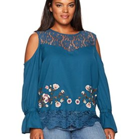 Plus Size Dara Cold Shoulder Top