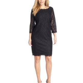 3/4 Sleeve Lace Dress