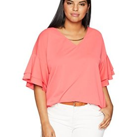 Double Ruffle Short Sleeve