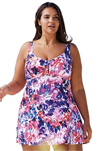Swim 365 Retro Swimdress Multi Floral
