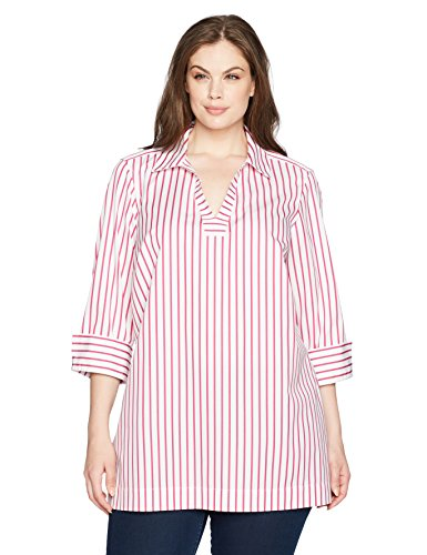 Nora Slim Stripe Non Iron Tunic