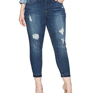 Pencil Cut Jean With Release Hem