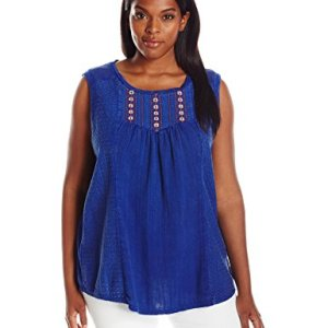 Plus Size Washed Knit Top