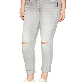 Kenni Mid-Rise Girlfriend Jeans