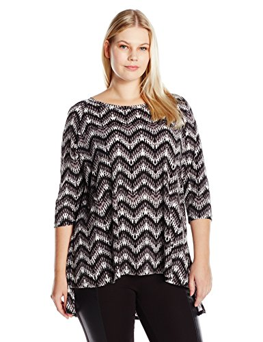 Hi-Lo Raglan Sleeve Top