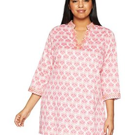 Block Print Embroidery Tunic