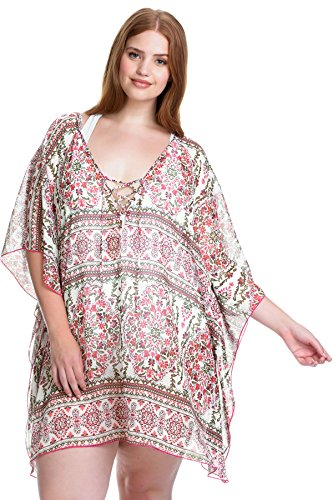 Granad Chiffon Tunic Cover up