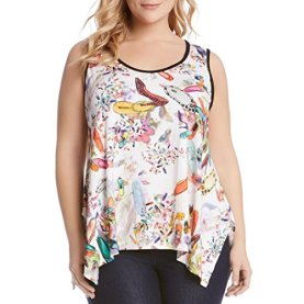 Plus Size Handkerchief Tank