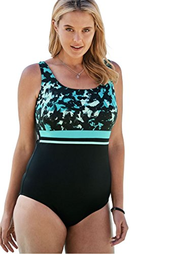 Empire-Waist Swimsuit