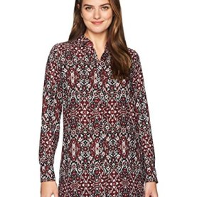 Long Sleeve Paisley Tunic