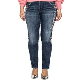 Relaxed Fit Mid Rise Skinny Jeans