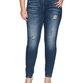Five Normal Waist Slim Jeans