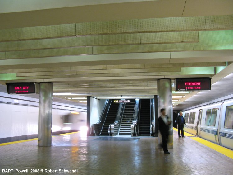 San Francisco BART  Powell Station