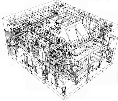 plant room drawing
