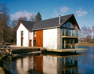Loch House by Killearn  Housing  Scotlands New Buildings  Architecture in profile the