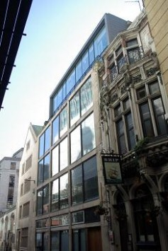 Extension to Apex City of London Hotel  Interiors and exhibitions  Scotlands New Buildings