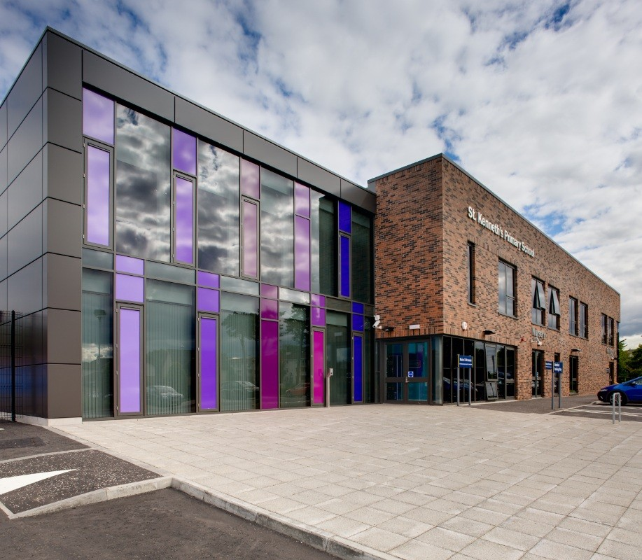 St Kenneths Primary School  Education  Scotlands New Buildings  Architecture in profile the