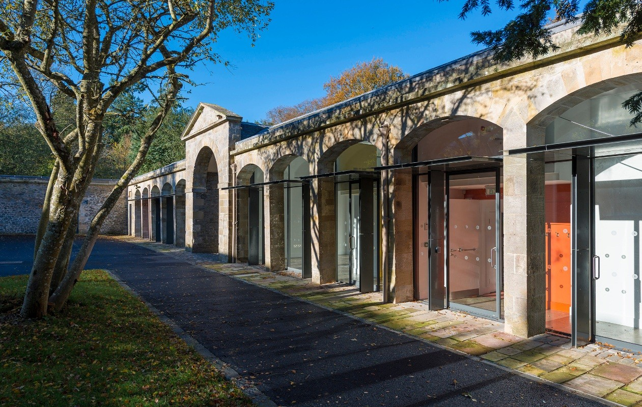 The Haining  Historic Buildings  Conservation  Scotlands New Buildings  Architecture in