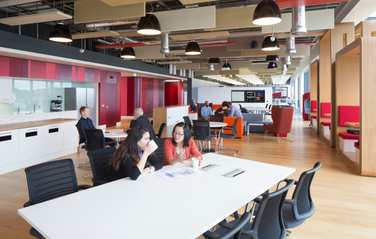 Collaborative Workplace Environment  Interiors and exhibitions  Scotlands New Buildings