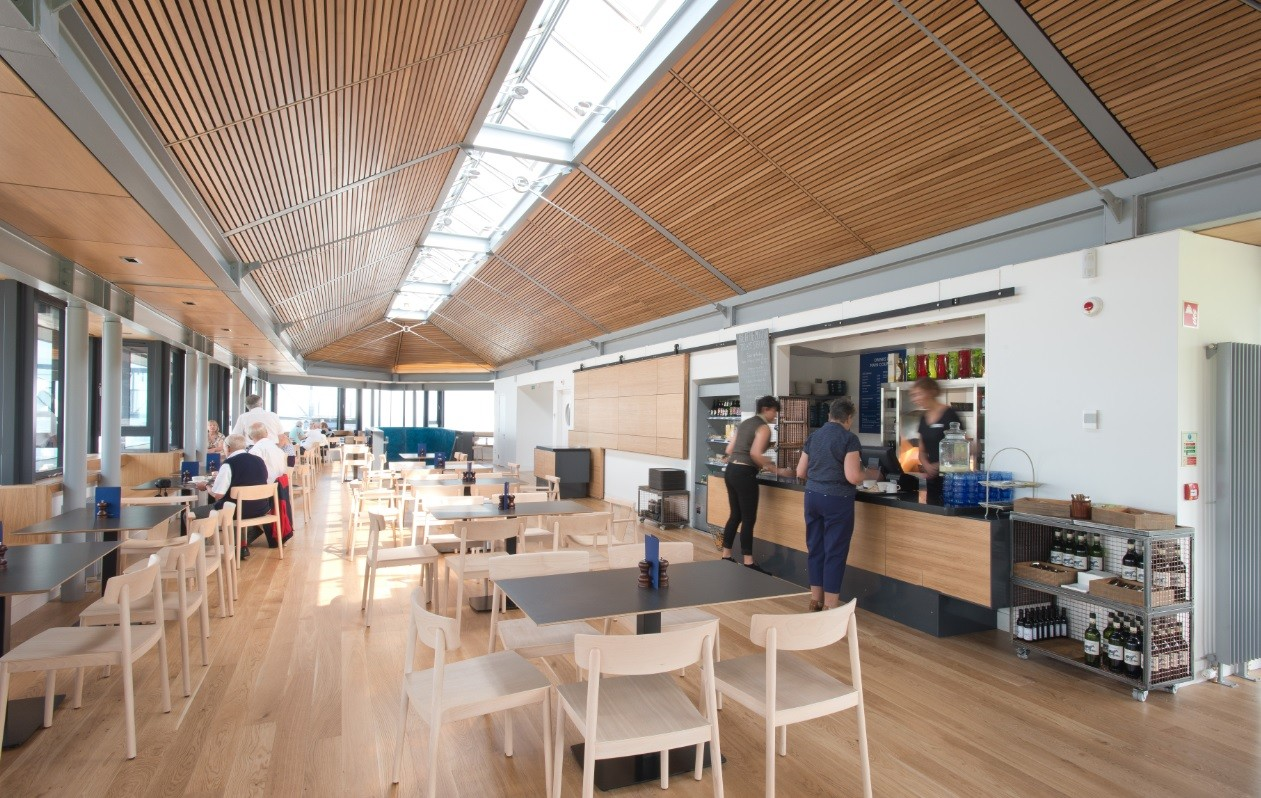 The British Golf Museum Cafe  RetailCommercialIndustrial  Scotlands New Buildings