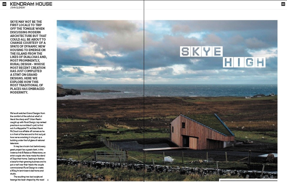 Kendram House January 2013 Features & Reports Architecture