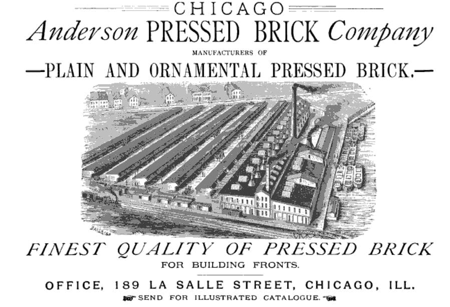 several ornamental pressed anderson victorian era red bricks salvaged from freemont street house