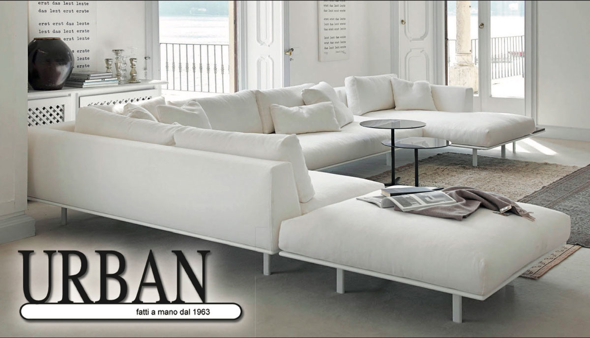 Urban Salotti divani poltrone e letti fatti a mano in