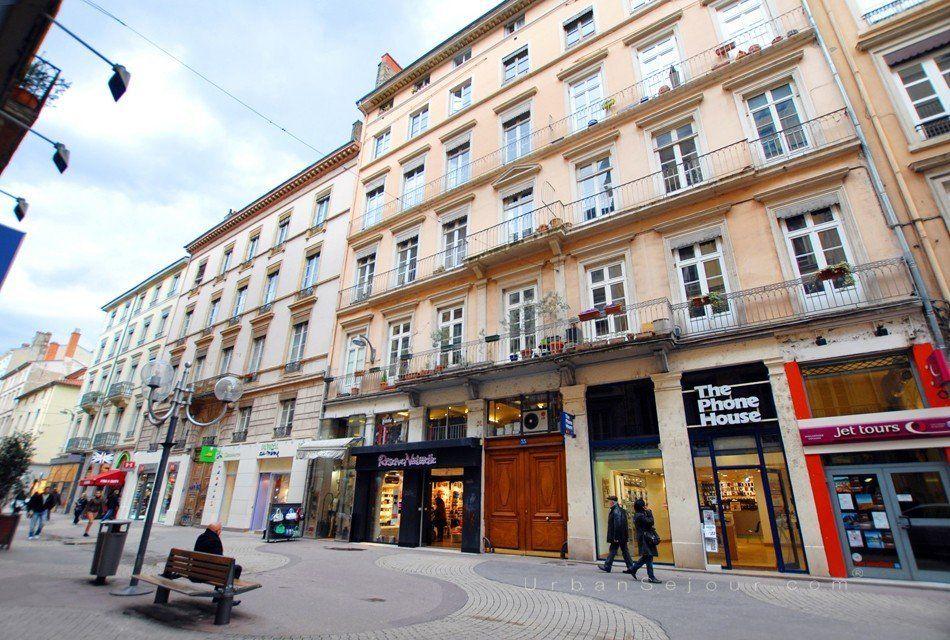 Location Appartement de 35 m avec 1 chambre en mezzanine  Location saisonnire Lyon 2